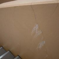 階段手摺壁鉄筋爆裂
